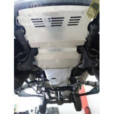 Scut rezervor, scut cutie de viteze si reductor, scut motor MITSUBISHI L200 05-10 (Pachet)