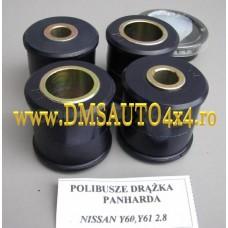 BUCSE POLIURETAN DIN OTEL NISSAN PATROL Y60 Y61 2.8