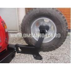 BARA SPATE DE OTEL OFF-ROAD - TOYOTA LC 80