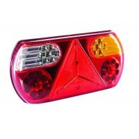STOP SPATE TRIUNGHI 12/24V 32 LED STANGA