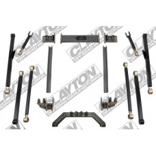 "Kit de inaltare 4-8"" CLAYTON OFFROAD Long Arm Upgrade - Jeep Grand Cherokee ZJ"