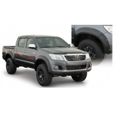 Overfendere Toyota HILUX 2011 - 2014 - 4.5 cm
