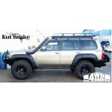 Overfendere 7cm KUT SNAKE Nissan Patrol Y61 1997 - 2005 5 usi
