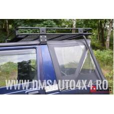 Portbagaj montabil pe plafon Suzuki Samurai - cu bari laterale