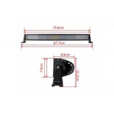 Bara LED 120W 4D Curbat SPOT