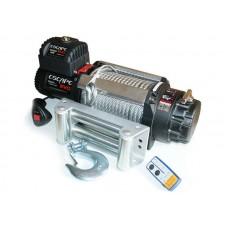 TROLIU Escape EVO cu cablu de otel 15000 lbs [6810 kg] IP68