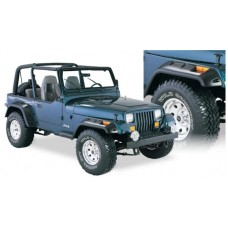 OVERFENDERE BUSHWACKER CUT OUT- JEEP WRANGLER YJ - 6